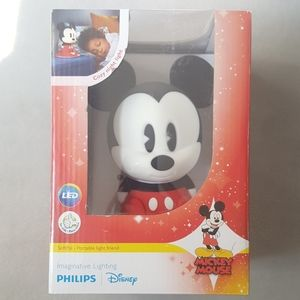 NWT Mickey Mouse PHILIPS Night Light